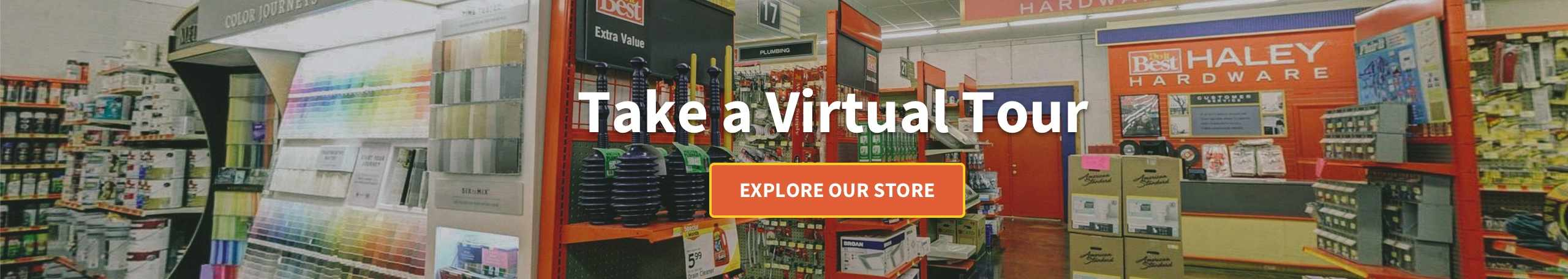 Take a virtual tour - Explore our Store