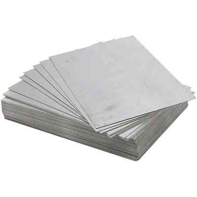 NorWesco 8 In. x 12 In. Mill Galvanized Step Flashing Shingle