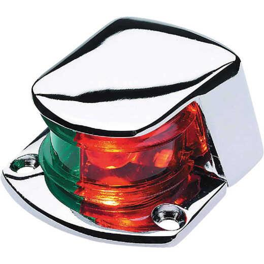 Seachoice Zamak Chrome 12V Bi-Color Bow Light